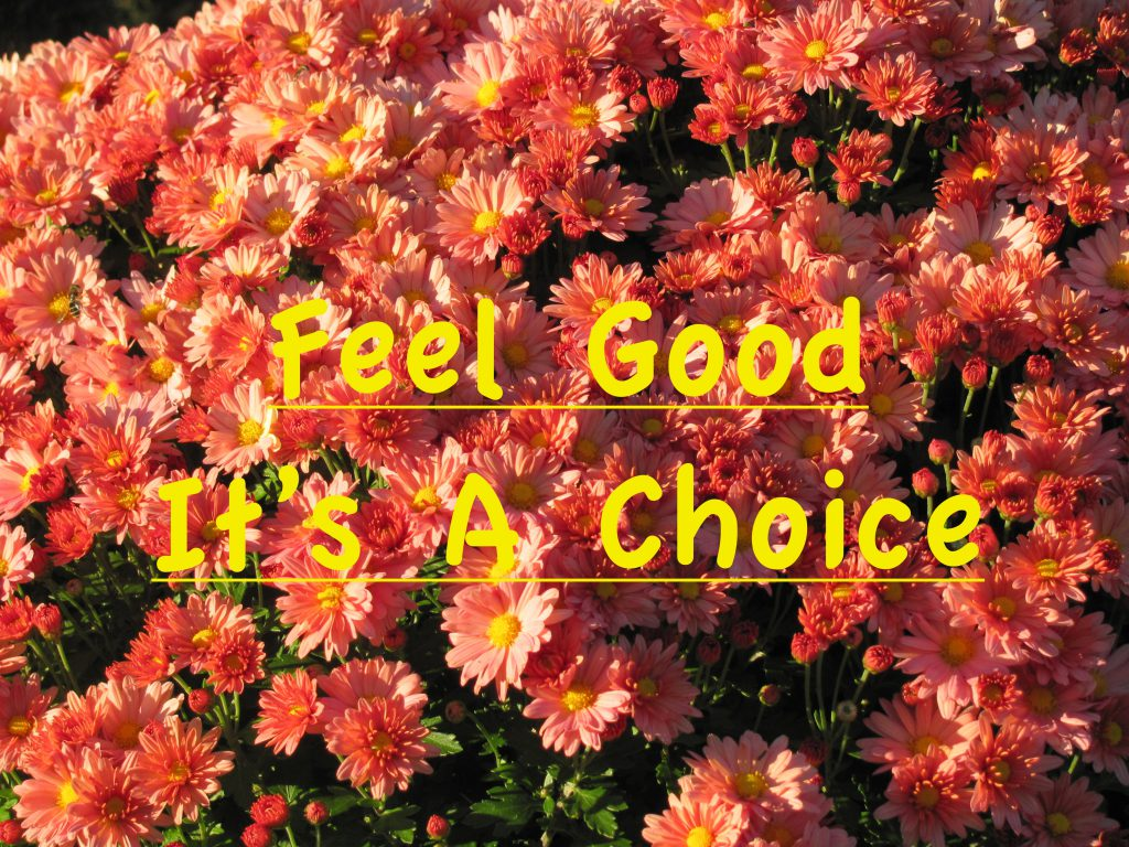 Feeling Good is a Vibration